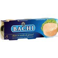 Atun Listado En Aceite Veg Bachi Ro-85 P-3 - 3041