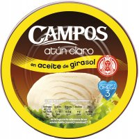 Atún Claro Aceite Girasol Campos Ro-1850 - 3044