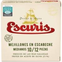 Mejillones Escab. Fritos Escuris 10/12 Ro-120 - 3055