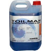 Gel Manos Azul Toilman S/perf. 5 Lt. - 34513