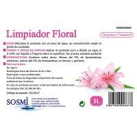 Netejador Bioalcohol Floral 5lt - 34771