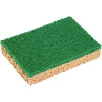 Esponja Vegetal Spontex74 Fibra Verde 10u - 34833