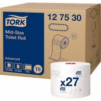 Paper Higiènic Mid-size Tork S/m 2c Bl 100m - 35024