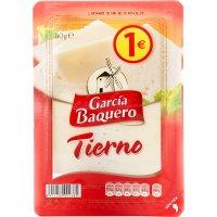 Queso Tierno Lonchas Garcia Baquero 80gr - 35086