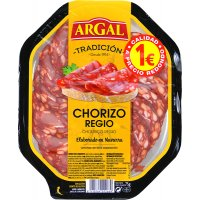 Chorizo Regio Argal Lonchas 75 Gr - 35097