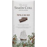 Chocolate 70% Cacao Simon Coll 85gr - 35160
