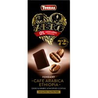 Chocolate Zero Neg 72% Cafe Arabica Torras 100g - 35190