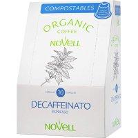 Café Novell Descafeinado 10 Capsulas Compost - 35215