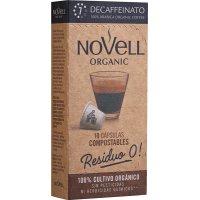 Cafe Novell Descaf.residuo 0 Compost 10caps - 35248