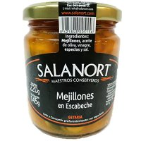 Mejillon Escab.tarro 220 Gr.salanort (12 U) - 35454