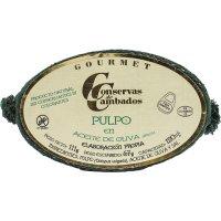 Pulpo Ria Aceite Oliva Ol-120 Cambados(25 U) - 35527