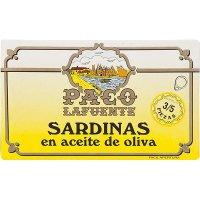 Sardinas A. Oliva 3/5 Rr125 P.lafuente (25 U) - 35543