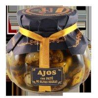 Ajos Pate Aceituna Negra 250 Gr.coquet (12 U) - 35562