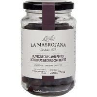 Aceituna Negra Elia Masrojana 220 Gr(12 U) - 35951