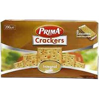 Crackers Integral Prima 200 Gr(8 U) - 36010