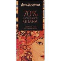 Chocolate 70% Ghana Amatller 70 Gr(10 U) - 36370