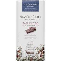 Chocolate 54% Cacao S/azuc. S.coll 85 Gr(10 U) - 36388