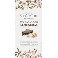 Chocolate Almendra 70 %s.coll 100 Gr(10 U) - 36394