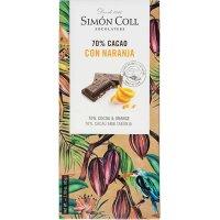 Chocolate 70% Naranja S.coll 85 Gr(10 U) - 36406