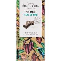 Chocolate 70% Sal S.coll 85 Gr(10 U). - 36407