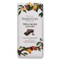 Chocolate 70%&nibs S.col 85 Gr(10 U) - 36428