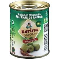 Olives Farcides Karina 180/200 50gr - 40096