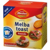 Tostadas Melba Redondas 110gr - 40145