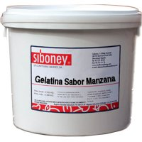 Gelatina Manzana Siboney Cubo - 40204
