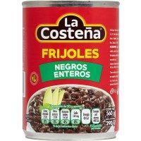 Frijoles Negros Enteros Costeña 560gr (12 U) - 40301