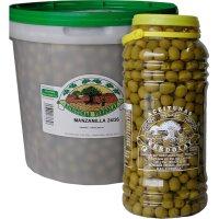 Aceitunas Eurogourmet Manzanilla 240-260 - 40692
