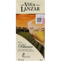 Lanzar Brik Litro Blanco - 4102