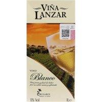 Lanzar Bric Litre Blanc - 4102