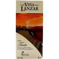 Lanzar Brik Litro Tinto - 4103