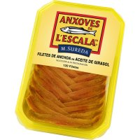 Anchoas De L'escala Tarrina 120 Filetes - 41749