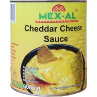 Salsa Formatge Cheddar Mex-al Llauna 3kg - 41937