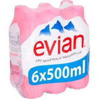 Evian 500 Pet Pack-6 - 4228