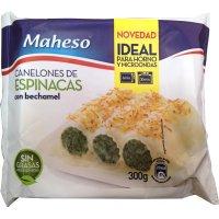 Canelones Espinacas Bechamel Maheso 300gr - 42485