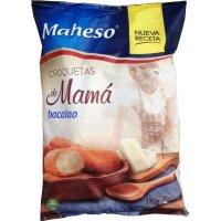 Croquetas Bacalao Mama Maheso 1kg - 42548