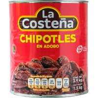 Chile Chipotles Adobados Costeña 2,8kg - 42700