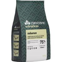 Chocolate Cob Negro 75% Takaran Bolsa 1,5kg - 42753