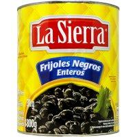 Frijoles Negros Enteros La Sierra Lata 3kg - 42870