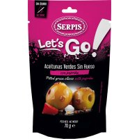 Olives Serpis Lets Go Paprika 70gr - 42893