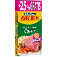 Caldo Carne Avecrem 8+2 Pastillas - 42935