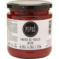 Pebrot Piquillo T-340gr Pepus - 43273
