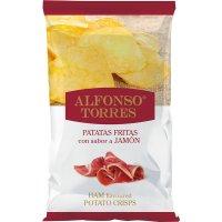 Patata Frita Jamon Alfonso Torres 120gr - 43289