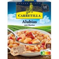 Alubias Con Chorizo 300gr Carretilla - 43370