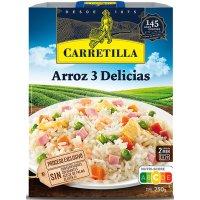 Arroz Tres Delicias 250gr Carretilla - 43376