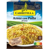 Arroz Con Pollo Al Curry 300gr Carretilla(10u) - 43394