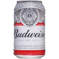 Budweiser Lata 33cl Bandeja - 4515