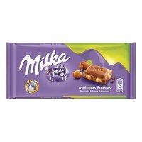 Chocolate Milka Avellanas Enteras 100gr - 4626